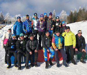 команда, казахстанские лыжники, Чеботько, Коломина, Шевченко