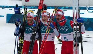 Скиатлон на ОИ-2018