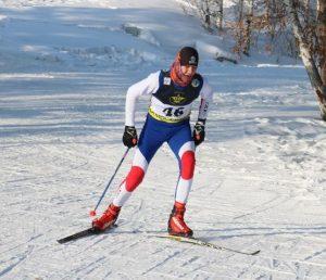 Чемпионат РК по лыжным гонкам. Щучинск